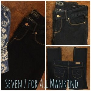 New Seven 7 for All Mankind Denim Jeans Size 29